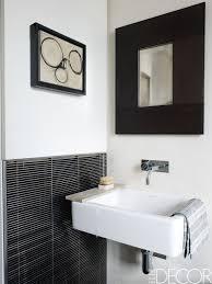 Perfect farmhouse bathroom remodel ideas Half Bath Elle Decor Bold Design Ideas For Small Bathrooms Small Bathroom Decor