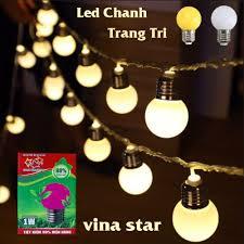 ⭐ Bóng Đèn Điện Led Chanh 1w New Star Trang Trí Quán Cafe Bóng Đèn Phòng  Ngủ VinaStar