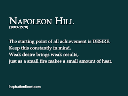Achievement Napoleon Hill Quotes. QuotesGram via Relatably.com