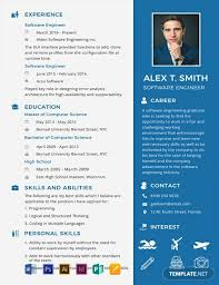 professional software engineer resumes free resume for software engineer fresher template word
