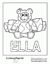 Free Personalized Coloring Pages Coloring Home