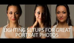 lighting setups for great portrait photos
