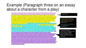 critical response paragraph structure 5
