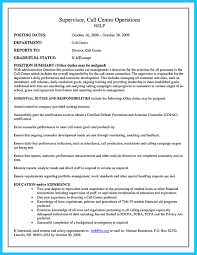 Call Center Skills Resume Cool Cool Information And Facts For Your Best Call Center Resume 16
