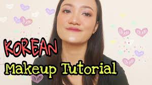 korean makeup tutorial natural look indonesia