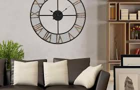 mirror distressed com better gold living room wall clocks collage porthole mirror better homes clock frame