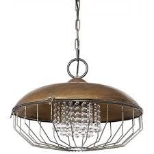 bronze metal chandelier with glass crystals