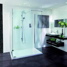 Walk In Shower Enclosure Aqata Spectra Walk In 3 Sided Shower Enclosure Sp415 Uk Bathrooms