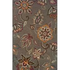 maxson floral handmade grey area rug grey floral area rug o21 floral