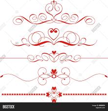 decorative heart dividers