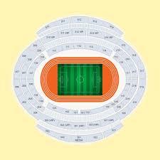 Baku Olympic Stadium Seating Plan Google Search Wembley