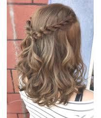 結婚式二次会の髪型マナーをおさえた簡単セルフアレンジ Aumo