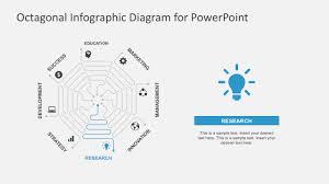 Octagonal Spiral Design Powerpoint Slides Slidemodel