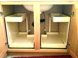 under counter sliding drawer kitchen