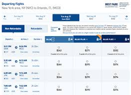 Jetblue Mileage Chart Your Guide To Booking Award Flights On Jetblue Nerdwallet