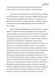 example tok essay projects design best resume app writing a  tok essay example