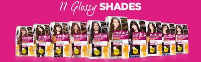 Loreal Casting Colour Chart Loreal Paris Casting Creme Gloss Hair Color Darkest Brown 300 87 5g 72ml