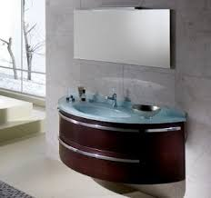 bathroom vanities with glass tops. contemporary round bathroom vanity in npl345 face cabinet with glass top from new vanities tops t