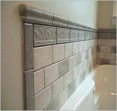 extraordinary bathroom tile trim shower ideas a best of around bathtub43 tile