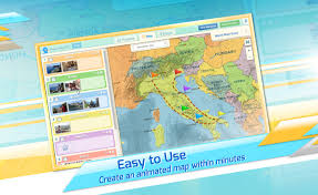 Animated Travel Map Interactive Animated Travel Maps Created With Pictramap