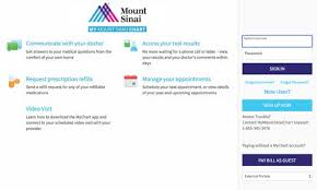 My Chart Access Mount Sinai Mychart Login And Register Mychart Mountsinai Org