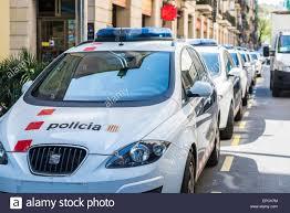 Barcelona Polizeiauto Stockfotos Barcelona Polizeiauto Bilder Alamy