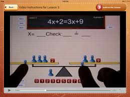 hands on equations 1 on the app