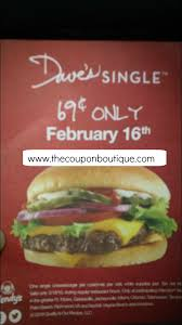 Wendys Single Burger Nutrition Facts