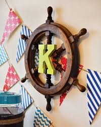 pirate baby nursery ship wheel