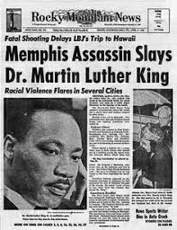 「Martin Luther King, Jr. was assassinated」の画像検索結果