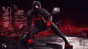 Marvels spiderman hd wallpaper 1920×1080. Miles Morales In Spider Man Ps4 3840x2160 Wallpaper Teahub Io
