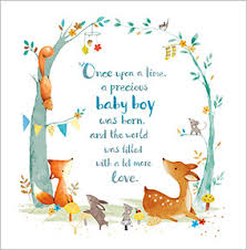 baby congratulations cards new baby boy congratulations card fawn squirrel funky pigeon