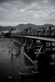 京都嵐山 渡月橋法輪寺橋 J A P A N Japan Photo
