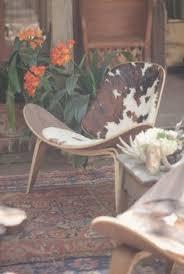 decohides cowhide chair