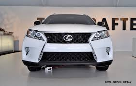 2014 Lexus Rx 350 Color Chart 2015 Lexus Rx350 Crafted Line Pebble Beach Debut In Detail