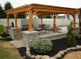 patio with fire pit and pergola. Lovely Outdoor Fire Pit And Pergola Pergolas \u2014 Kansas City Hardscapes Patios Pits Patio With N