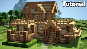 Minecraft Building Designs Step By Step Minecraft Starter House Tutorial How To Build A House In Minecraft Easy