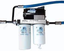 diesel lift pump airdog 150 gph fuel lift pump filter fits 01 10 6 6l duramax diesel a4spbc088