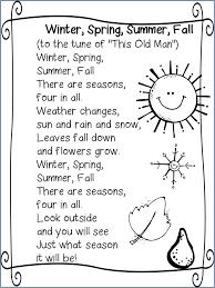 Best 25+ Seasons poem ideas on Pinterest | Weather poem, Preschool ...