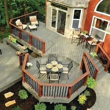 Backyard Deck Designs Plans Best Inspiration Ideas