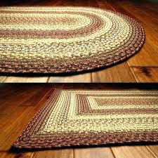 home decor rectangle braided area rug x stallion design
