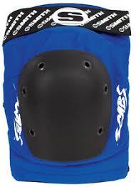 Details About Smith Scabs Safety Gear Blue Elite Knee Pads Roller Derby Skateboard Inline