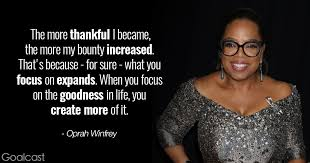 Oprah Winfrey Quotes Interesting 48 Oprah Winfrey Quotes To Charge Your Day With Gratitude Goalcast