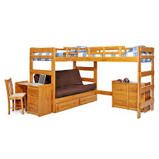 Metal Twin Loft Bed Frame With Desk Xl. Queen ...