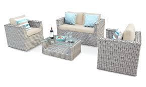 full size of 5 seater rattan garden corner sofa set napoli grey corsica with table ledge