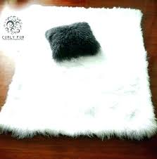 small grey faux fur rug washable sheepskin throw fake sheepskins for small grey faux fur rug