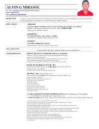 A Resume Format For A Job Awesome A Good Resume Sample For A Job Beauteous Sample Nurse Resume With