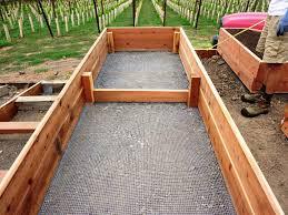 raised bed garden box plans