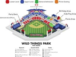 Lake Erie Crushers Stadium Seating Chart Seating Chart Official Website Of The Washington Wild Things