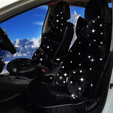 more images code 0006479213102016qty 6 name top crystals plush car seat cushion for women winter universal package covers